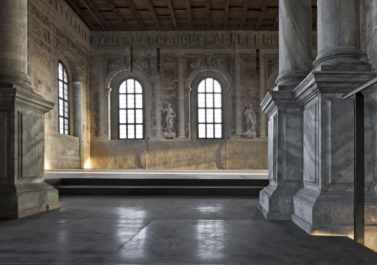 Restoration of the scuola grande della misericordia ta for Scuola sansovino venezia