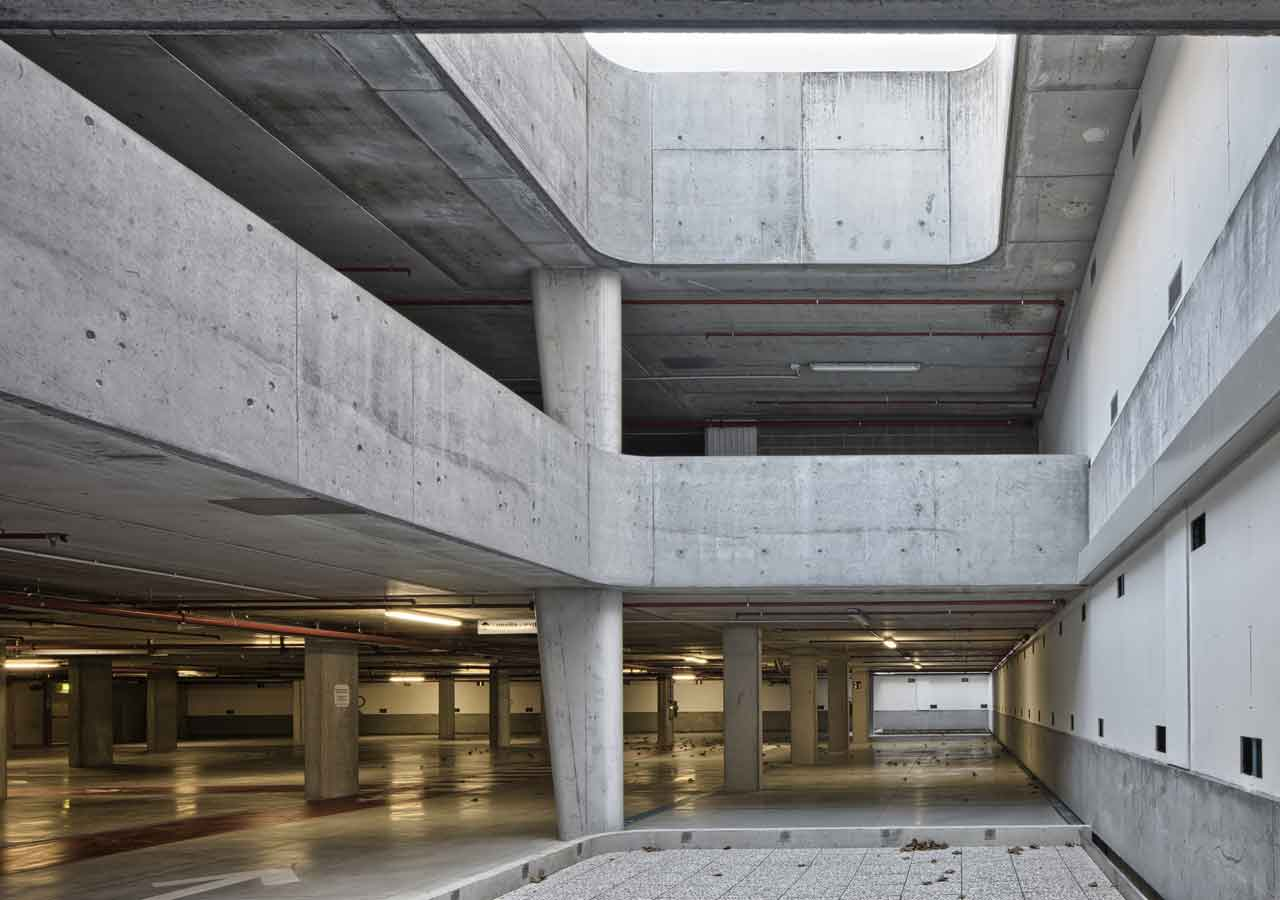 parking's architecture, landscape architecture