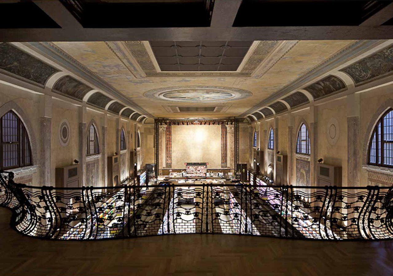 teatro italia, heritage conservation Venice